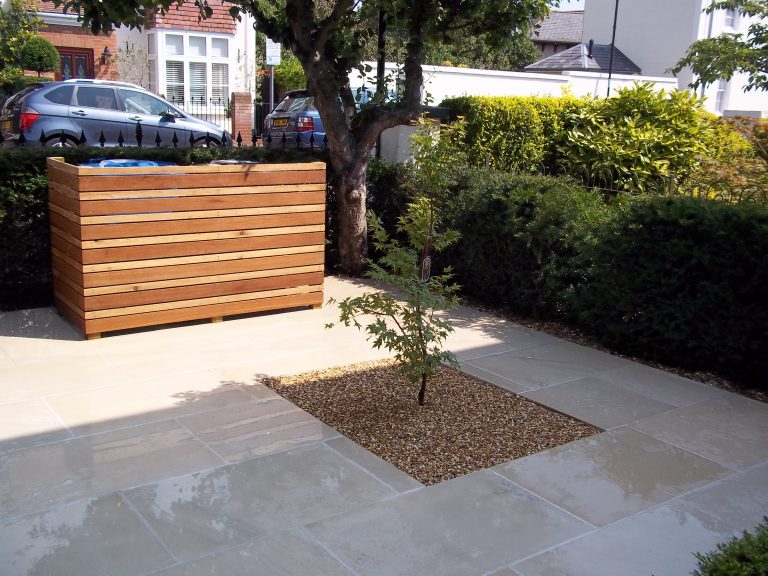 Small front garden design in Windsor